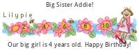 Lilypie Fourth Birthday (2dPj)
