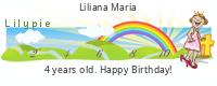 Lilypie Fourth Birthday (CNGl)