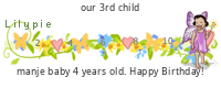 Lilypie Fourth Birthday tickers
