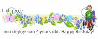 Lilypie Fjerde Fødselsdag tickers