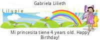 Lilypie Fourth Birthday (aHJ2)