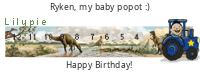 Lilypie Fourth Birthday (fsqZ)