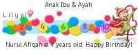 Lilypie Fourth Birthday (xlWE)